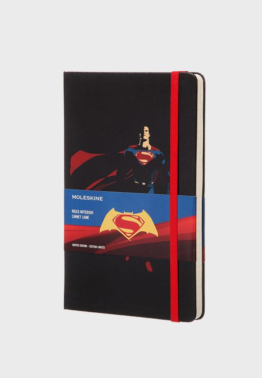 Superman Large Ruled Notebook