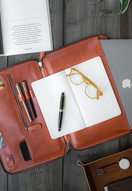 13' Mark Tech Portfolio Leather Case