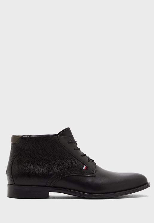 Formal Lace Up Boots