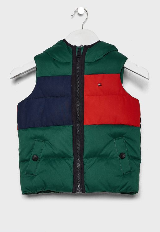 Kids Flag Hooded Jacket