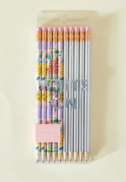 Set Of 10 Pencils
