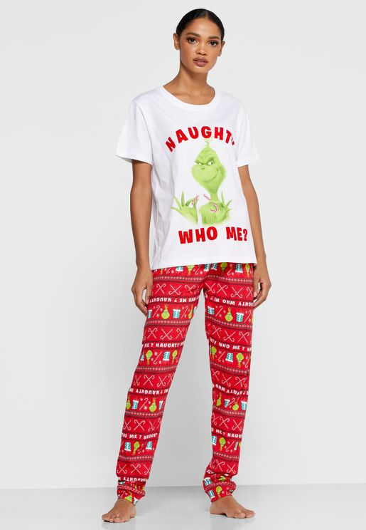 Printed T-Shirt & Pyjama