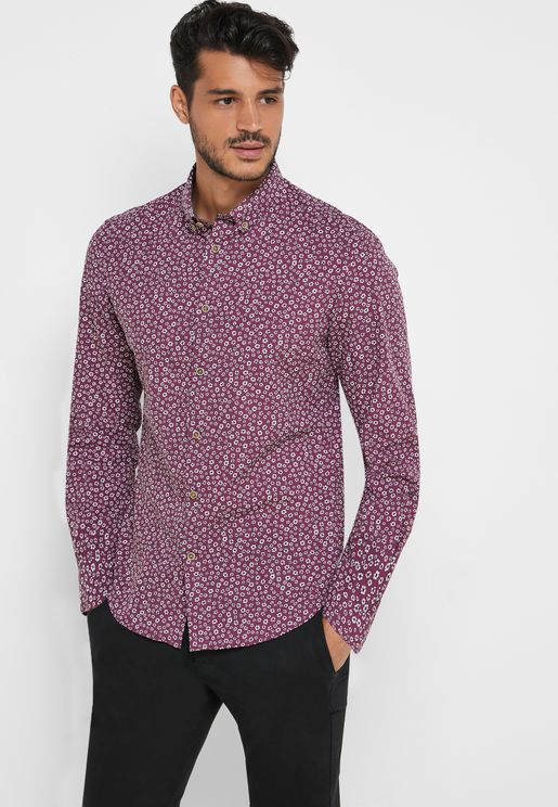 AOP Floral Regular Fit Shirt