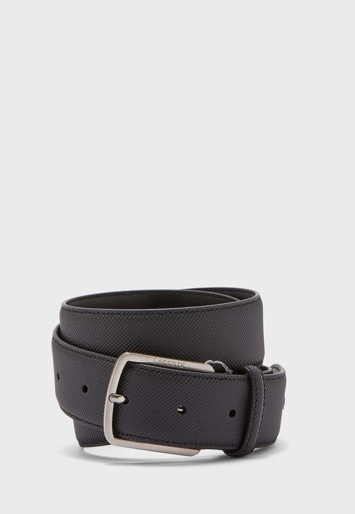 Curved Stitched Edge Belt