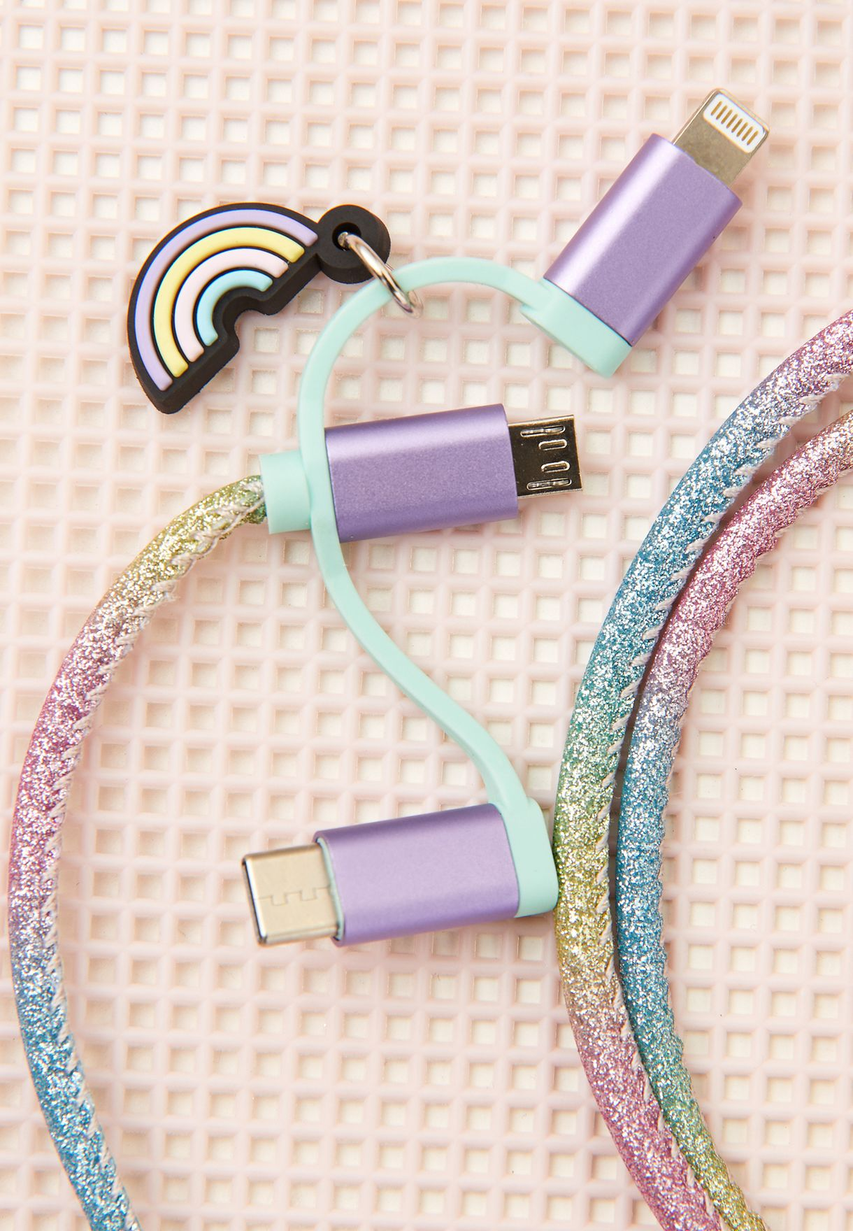 3-in-1 Unicorn Charging Cable