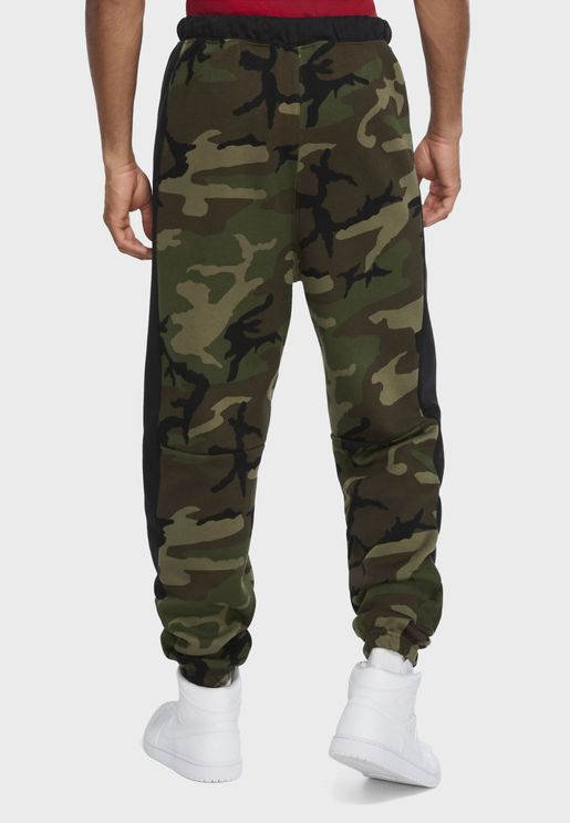 Jordan Jumpman Classic Camo Fleece Sweatpants