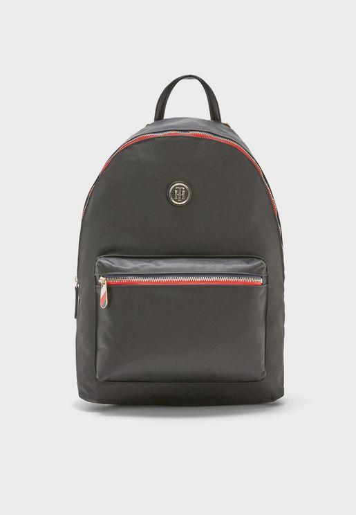 Poppy Front Pocket Backpack