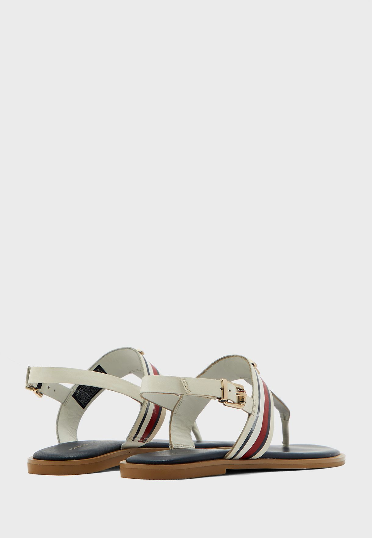 Corporate Leather Flat Sandal - YBI