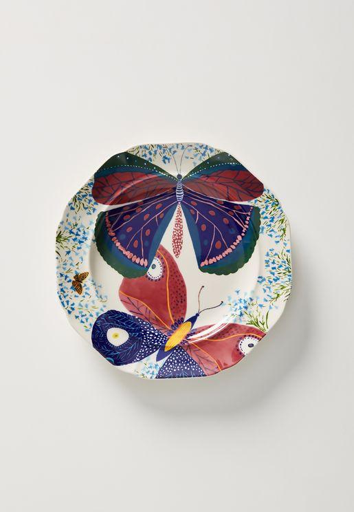 Butterfly Marrot Desert Plate