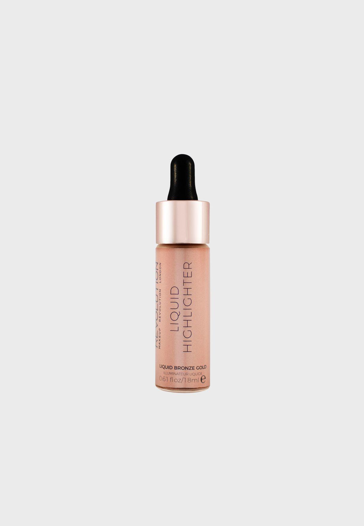 Revolution Liquid Highlighter Liquid Bronze Gold