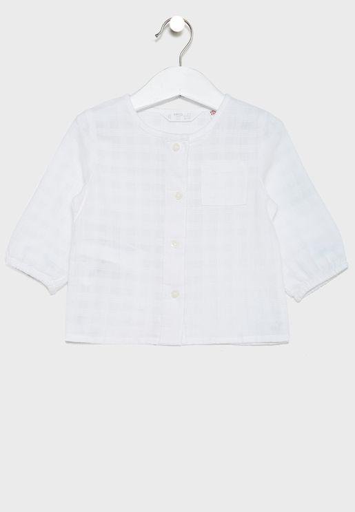 Infant Check Pattern Shirt