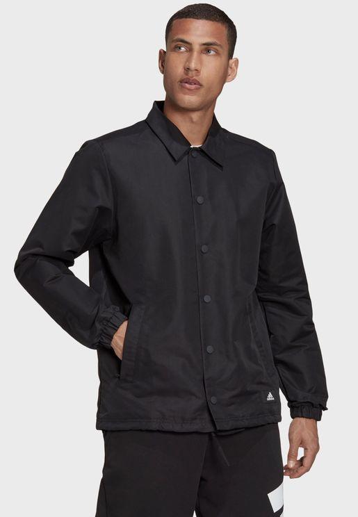 3 Bar Future Icon Coaches Jacket