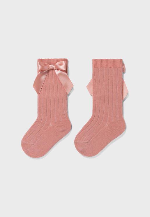 Infant Bow Detail Socks