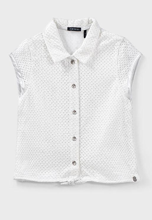 قميص قطني بلا اكمام