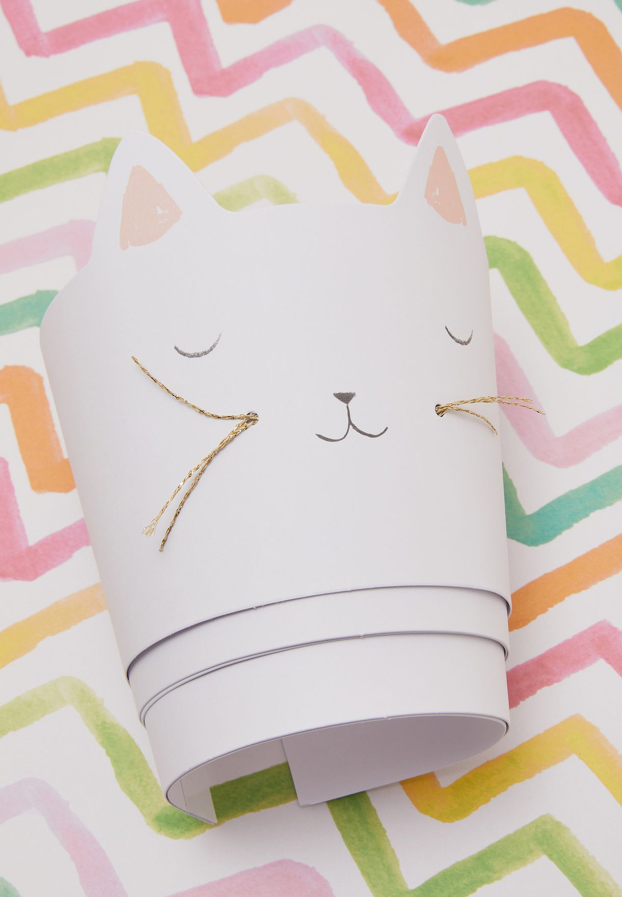 Cat Party Cups 8 Pack
