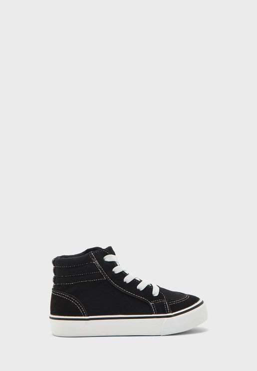 حذاء سنيكرز بكاحل مرتفع