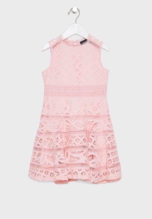 Teen Elise Lace Dress