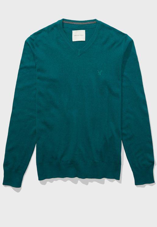 Essential V-Neck Sweater