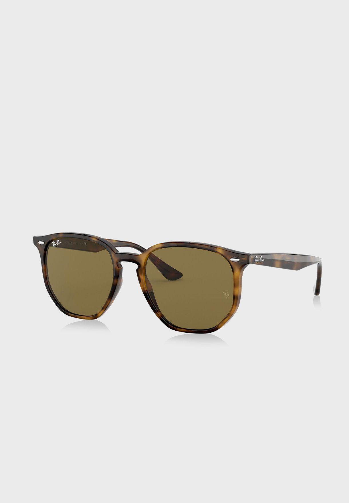 0RB4306 Hexagonal Sunglasses