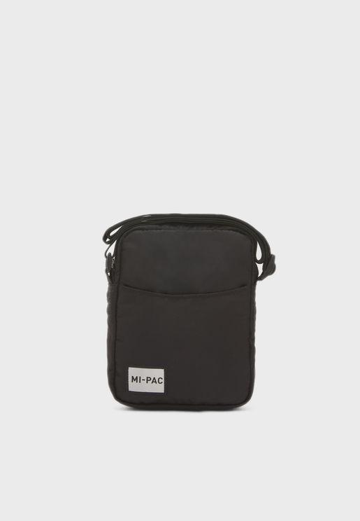 Crosshatch Flight Messenger Bag