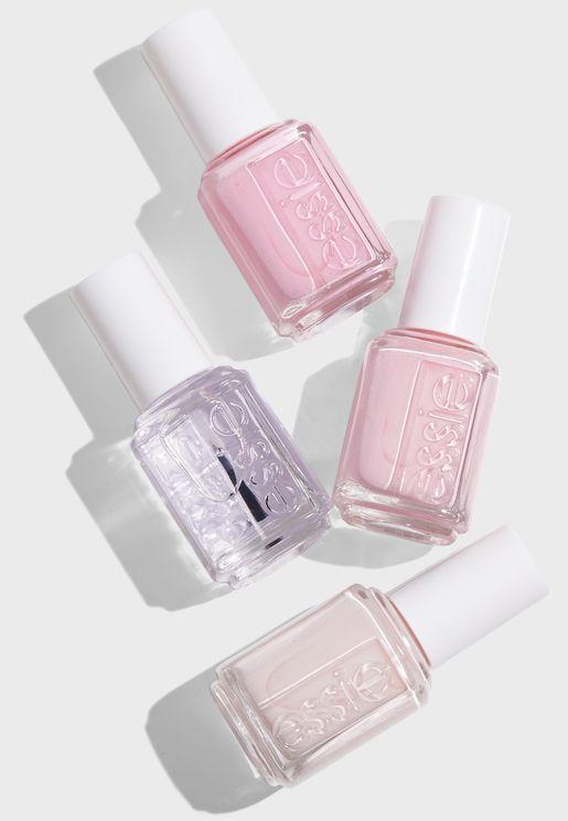 Pastel Pinks Nail Varnish Set worth 180 AED/SAR