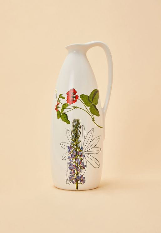 Floral Pitcher Jug