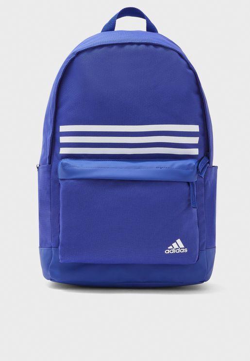 Classics 3 Stripe Pocket Backpack
