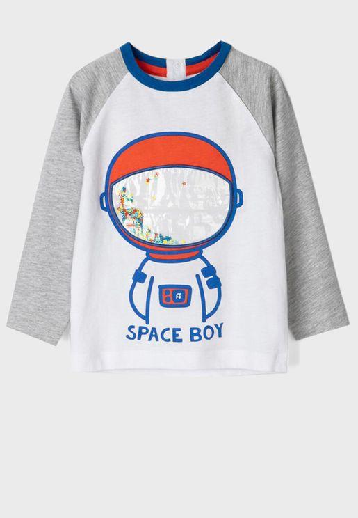 Infant Space Boy T-Shirt