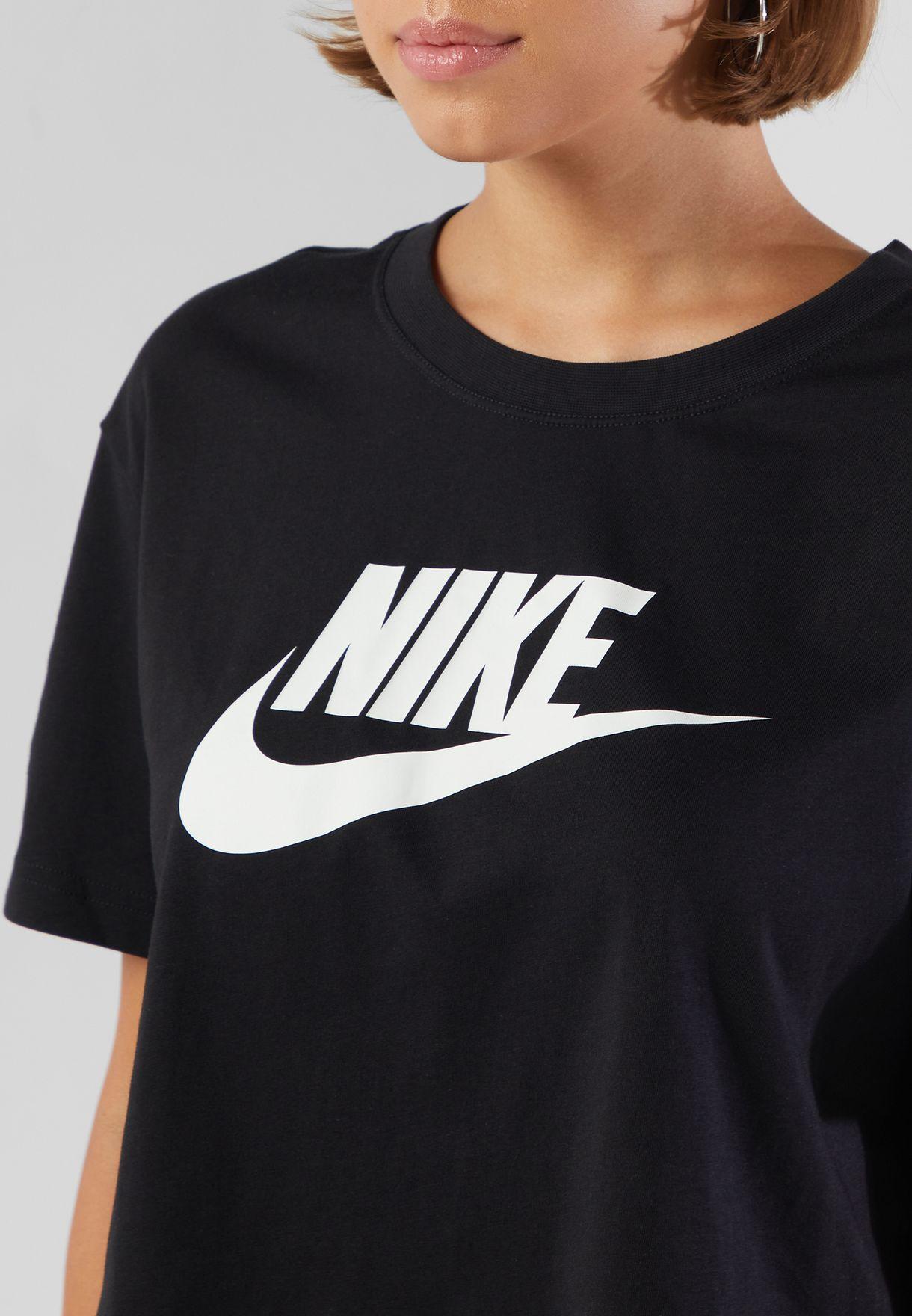 Essential Futura Icon Cropped T-Shirt