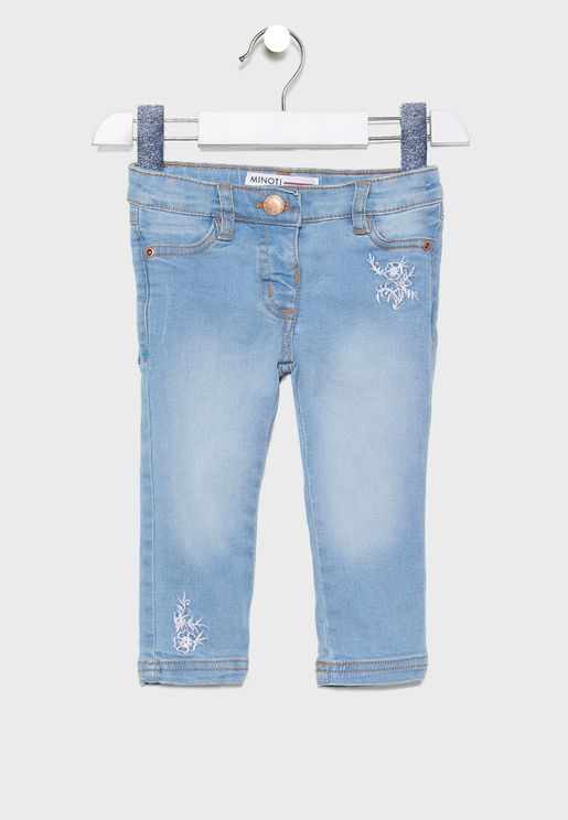Infant Embroidered Jeans