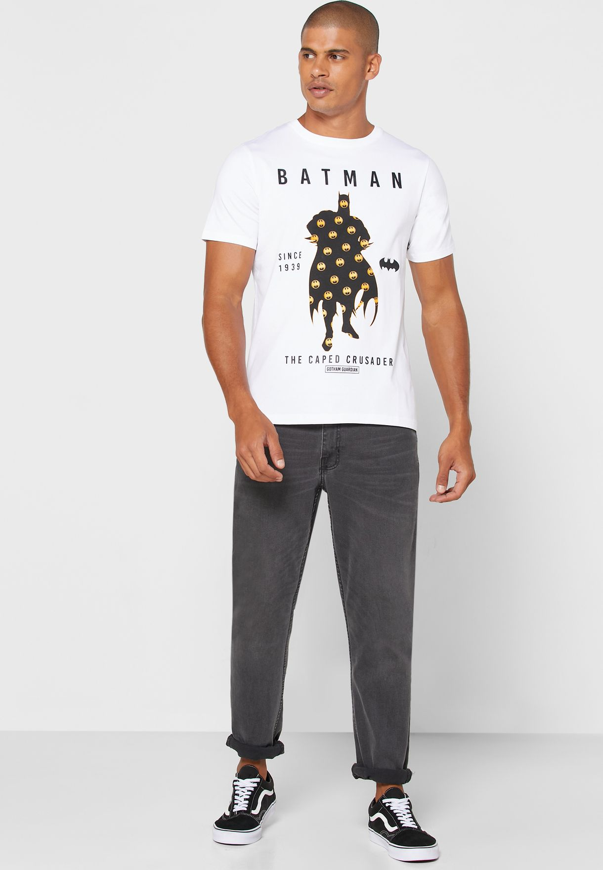 Batman Crew Neck T-Shirt