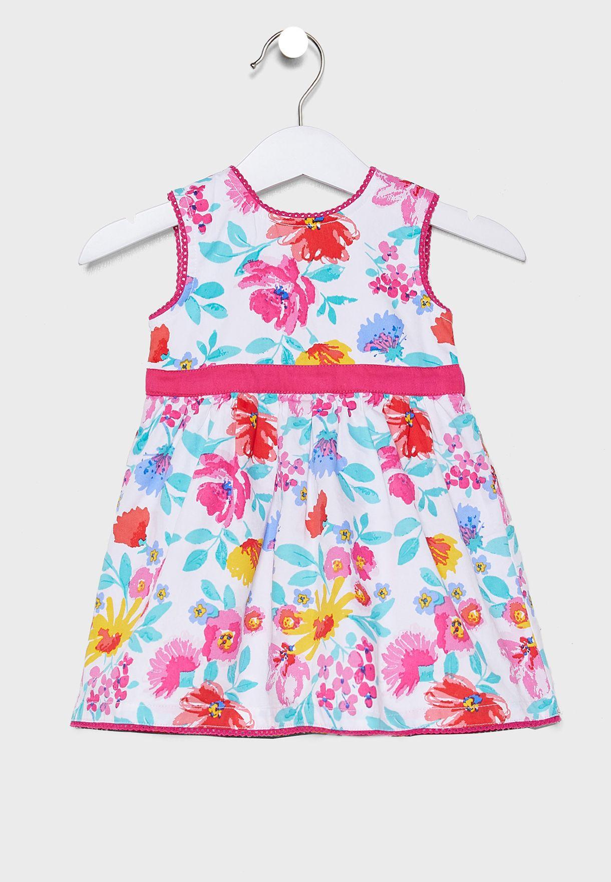Kids Floral Party Dress