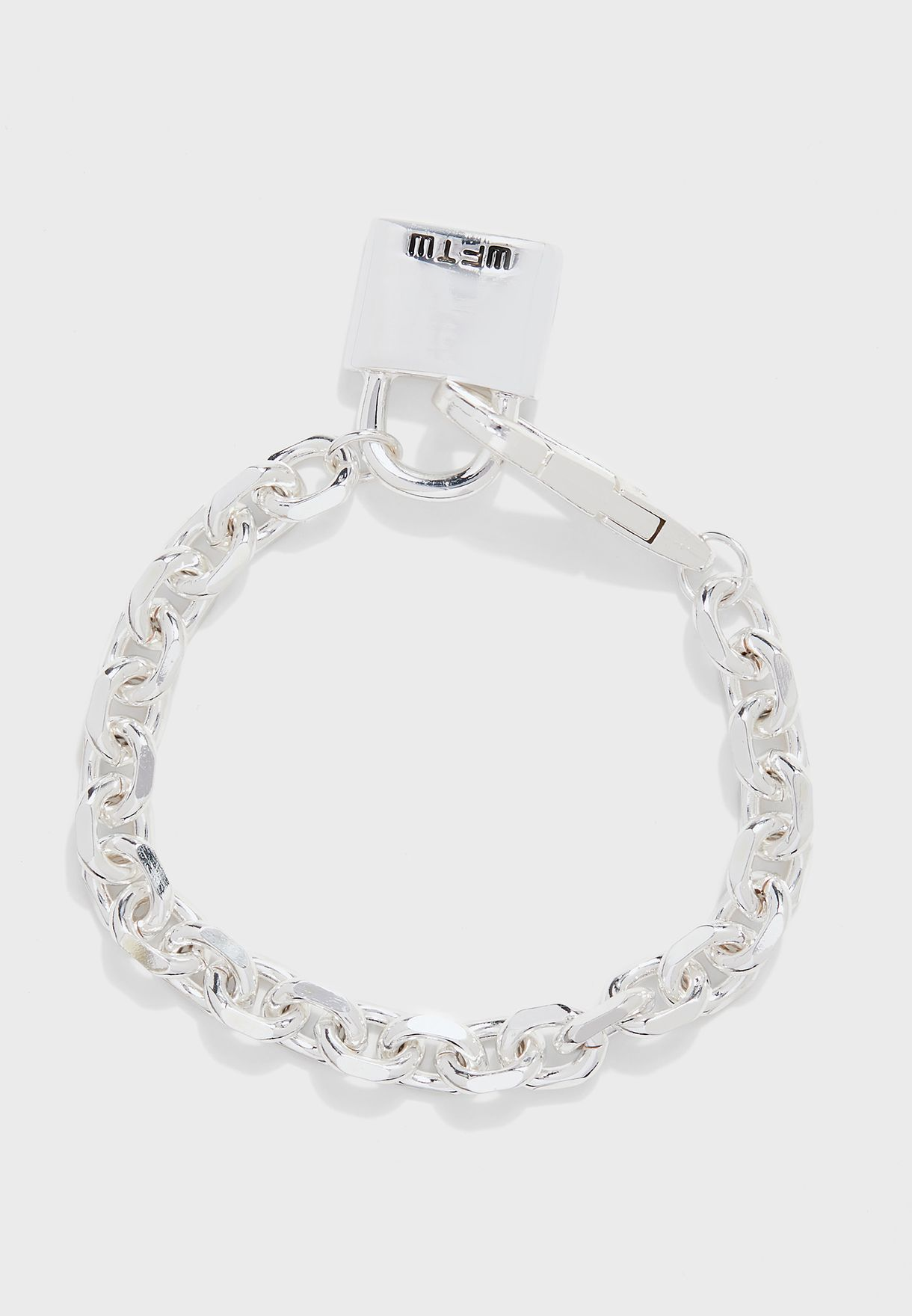 Lockdown Link Chain Bracelet