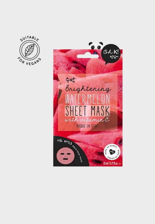 Vitamin C Watermelon Sheet Mask