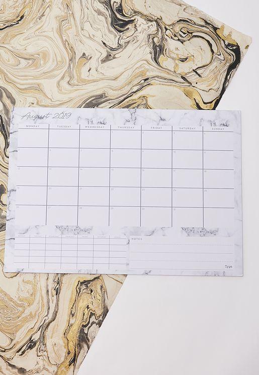 جدول لتنظيم المواعيد