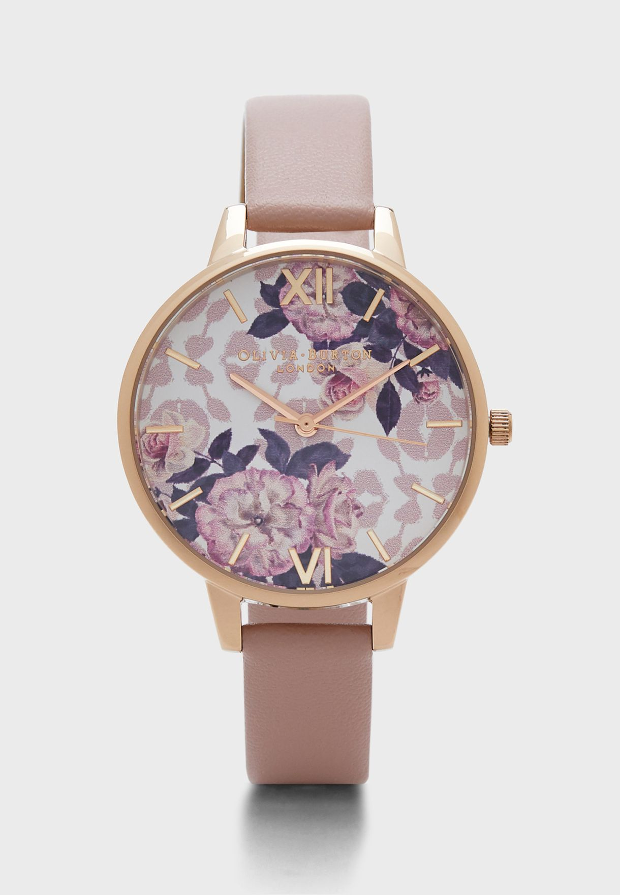 Wildflower Analog Watch