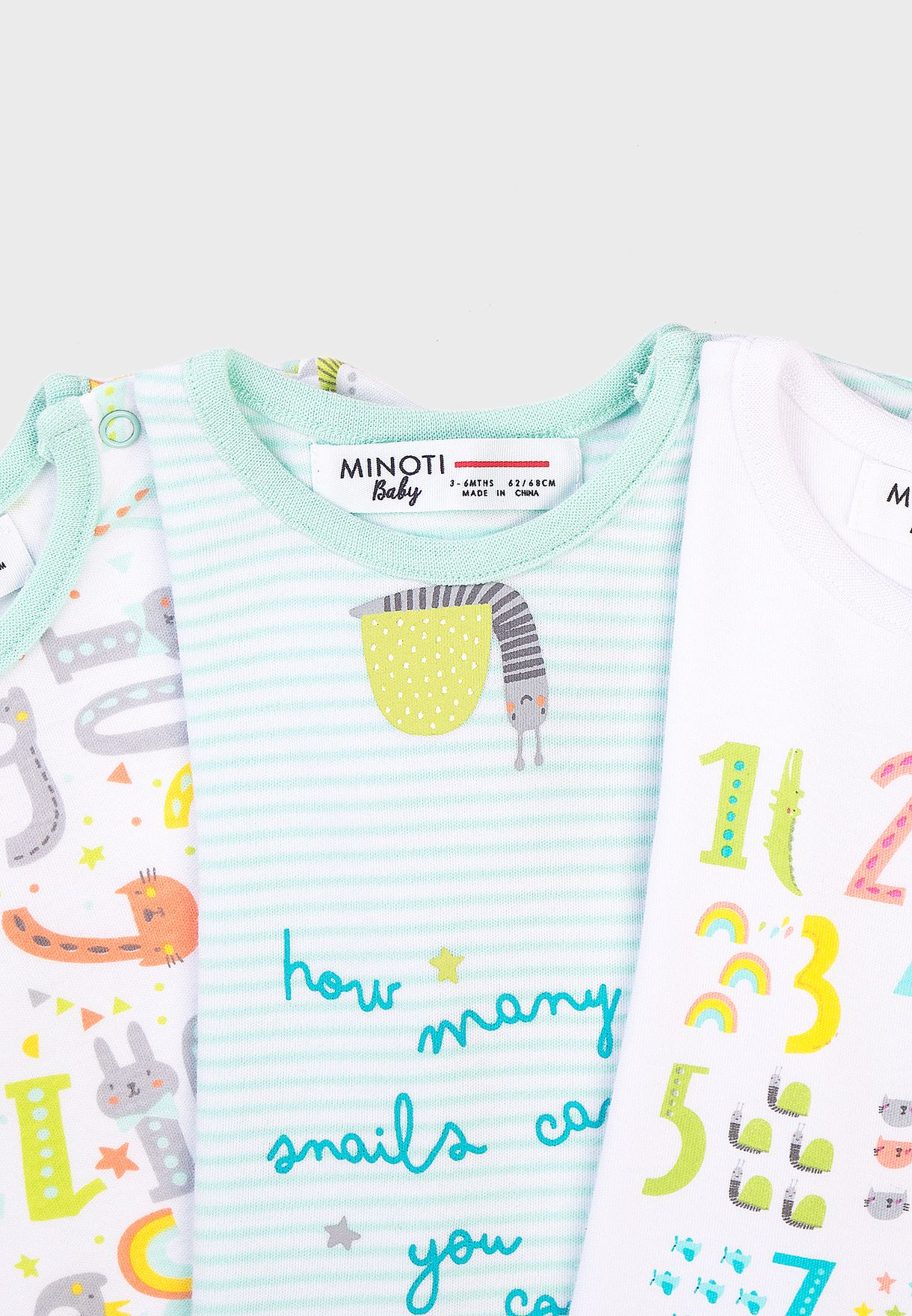 Infant 3 Pack Assorted T-Shirt