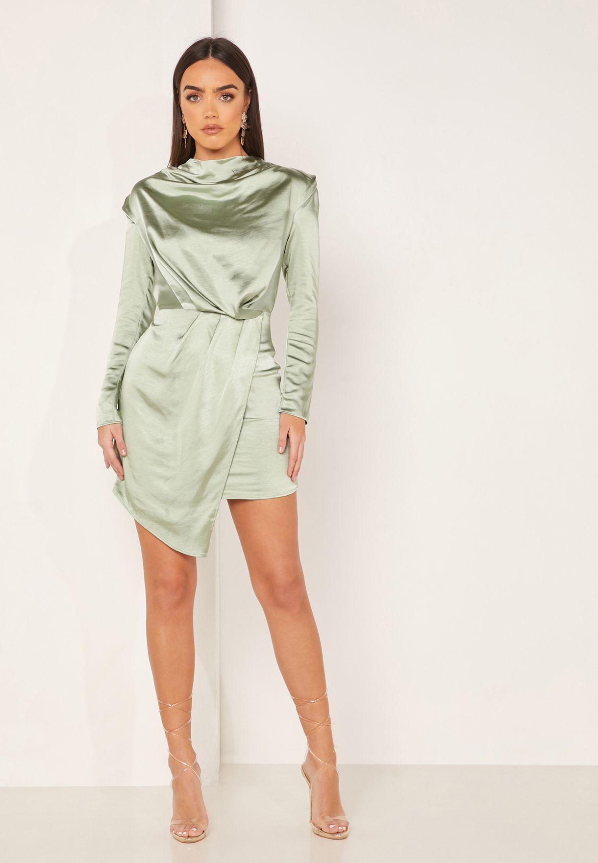 فستان باكتاف مبطنة