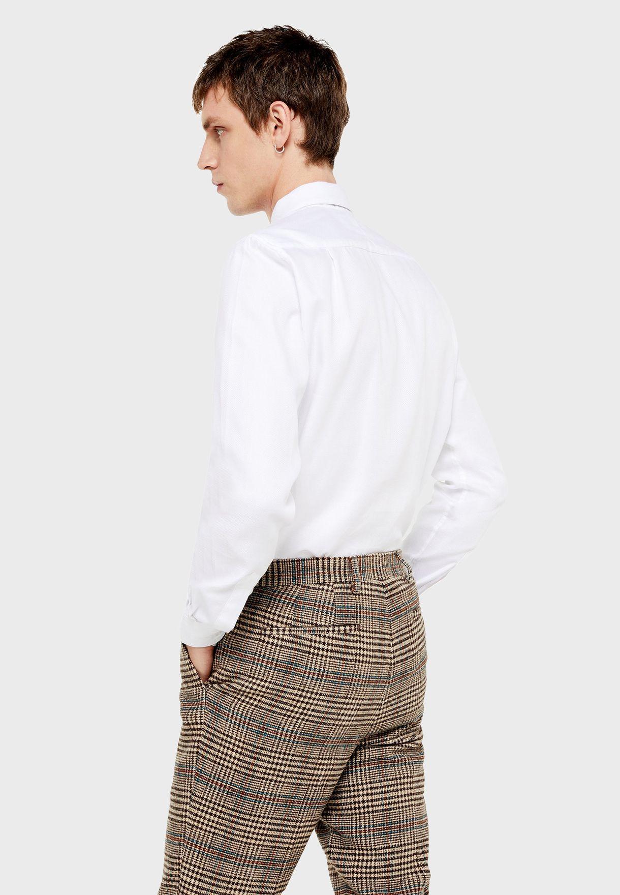 Texture Slim Fit Shirt