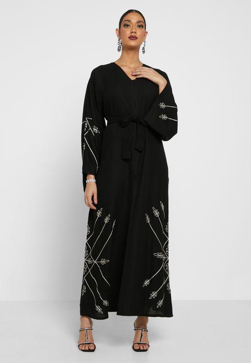 Broidered Abaya