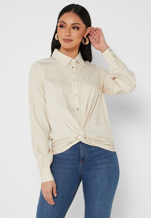 Front Twisted Shirt