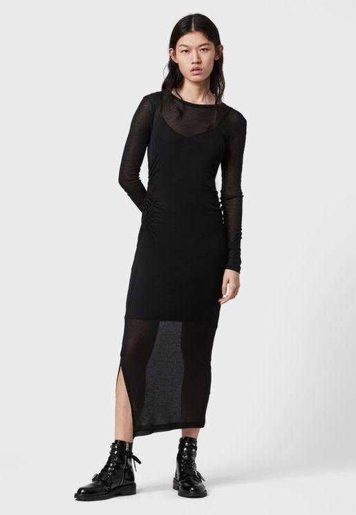 Francesco Side Split Dress