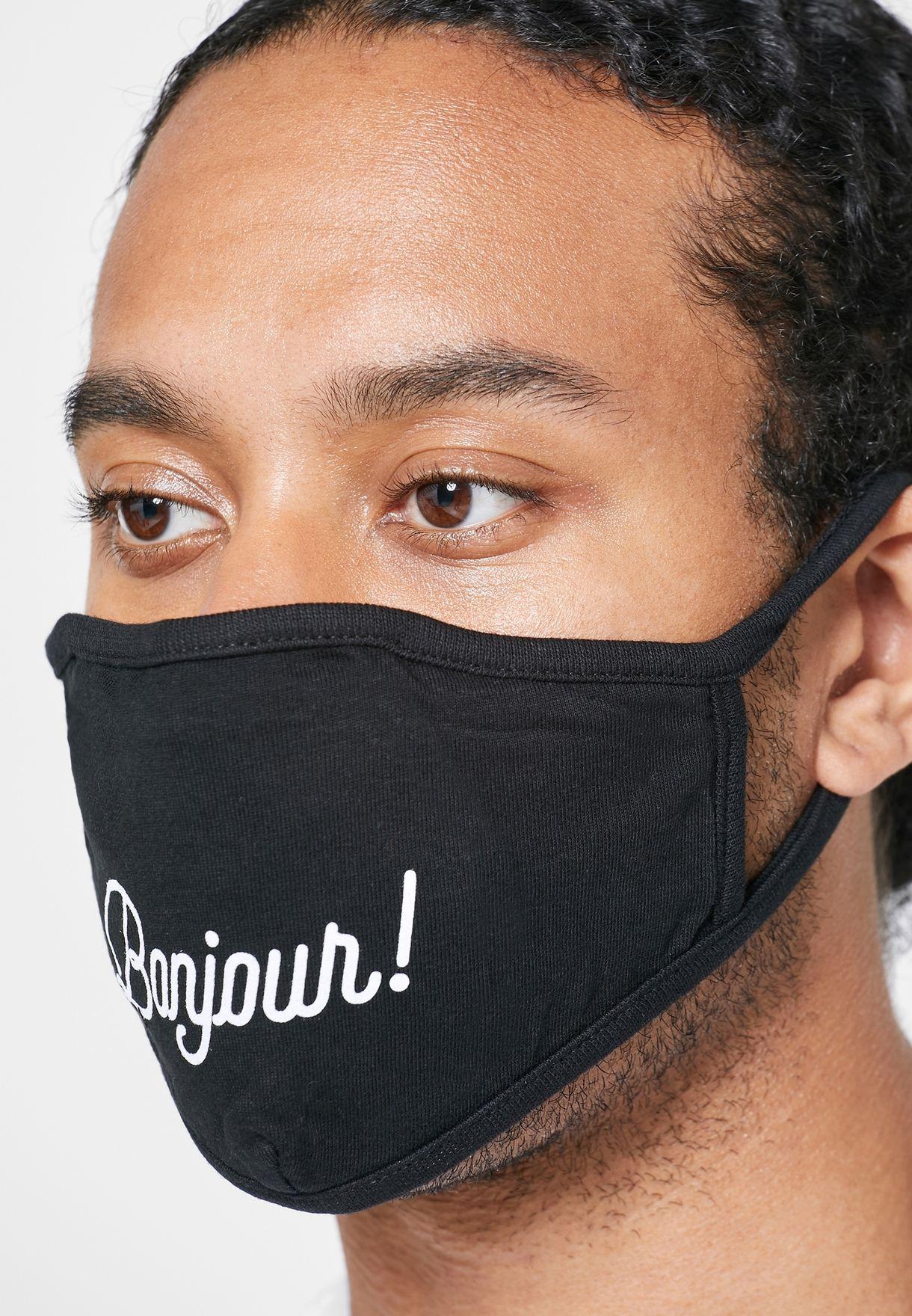 Bonjour Face Mask
