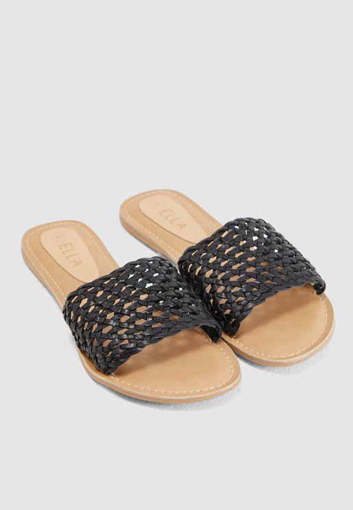 Leather Mule Sandal