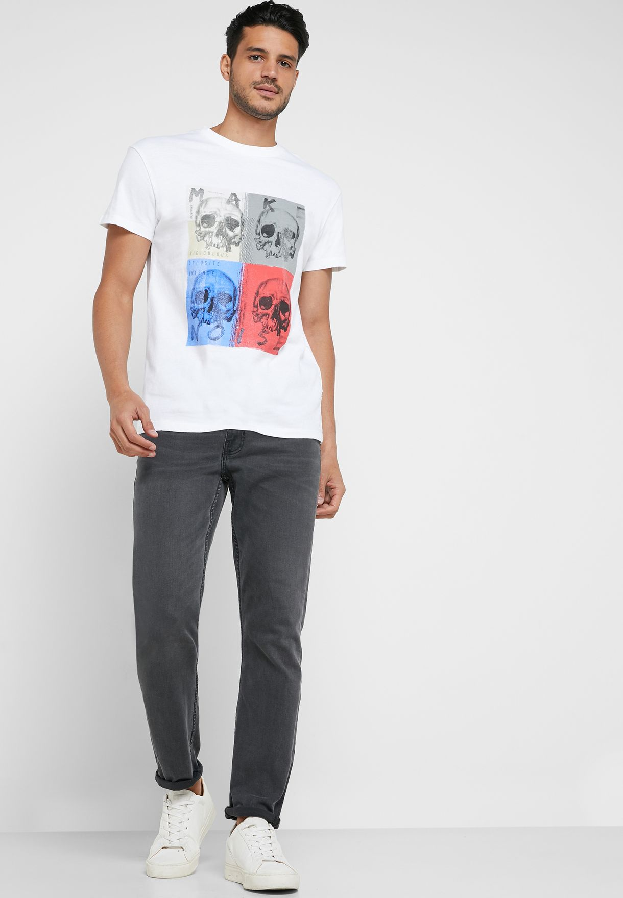 Brooke Relaxed Fit Crew Neck T-Shirt