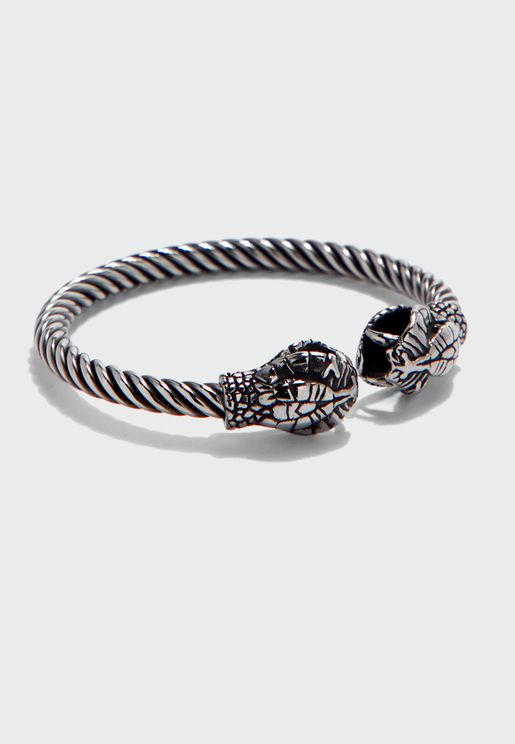 Snake Cuffed Bracelet