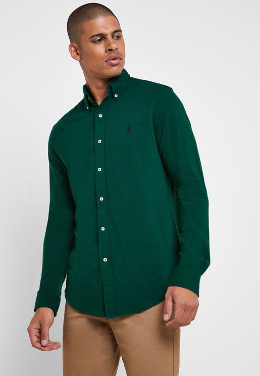 Oxford Button Down Collar Shirt