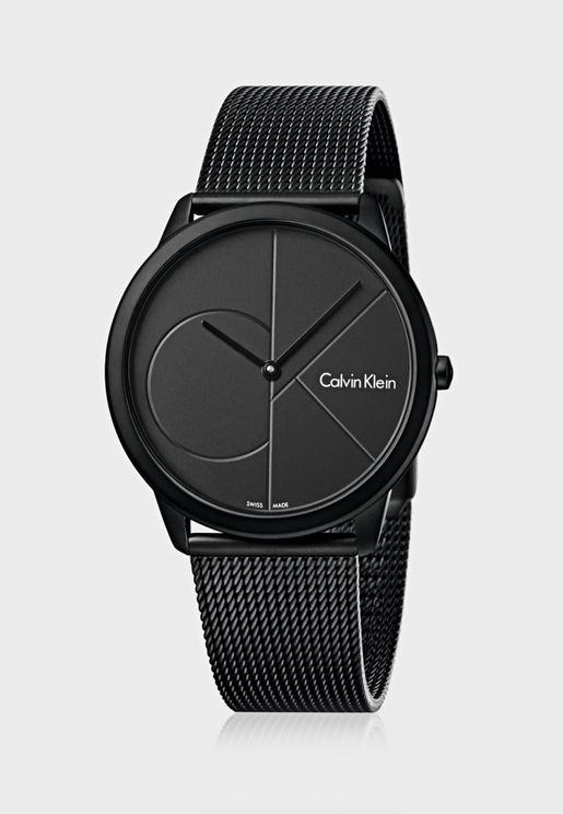 K3M514-B1 Minimal Mesh Watch