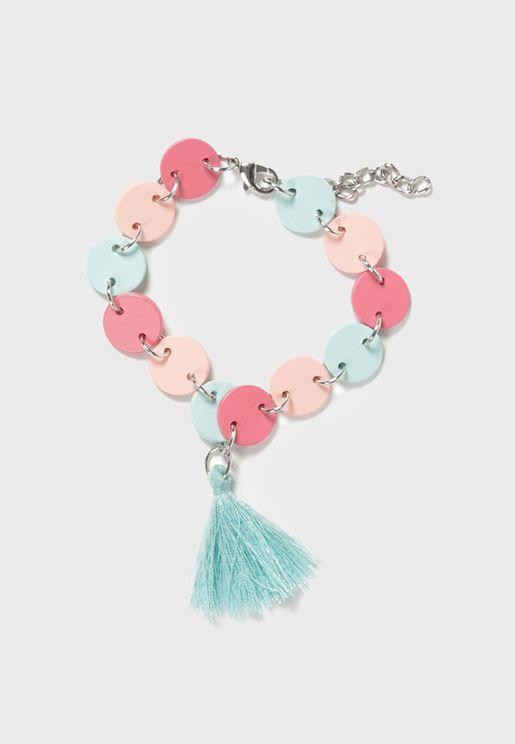 Kids Ruffle Bracelet