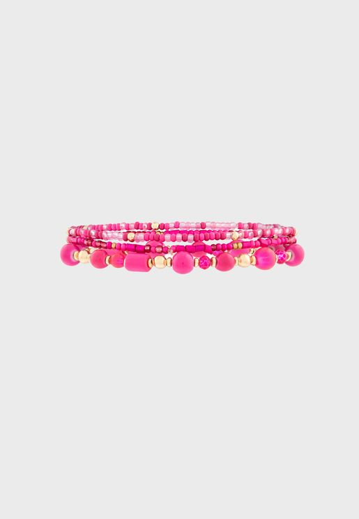 Kids Stretch Beaded Bracelet